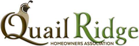 Quail Ridge Condominiums Homeowner Association Logo
